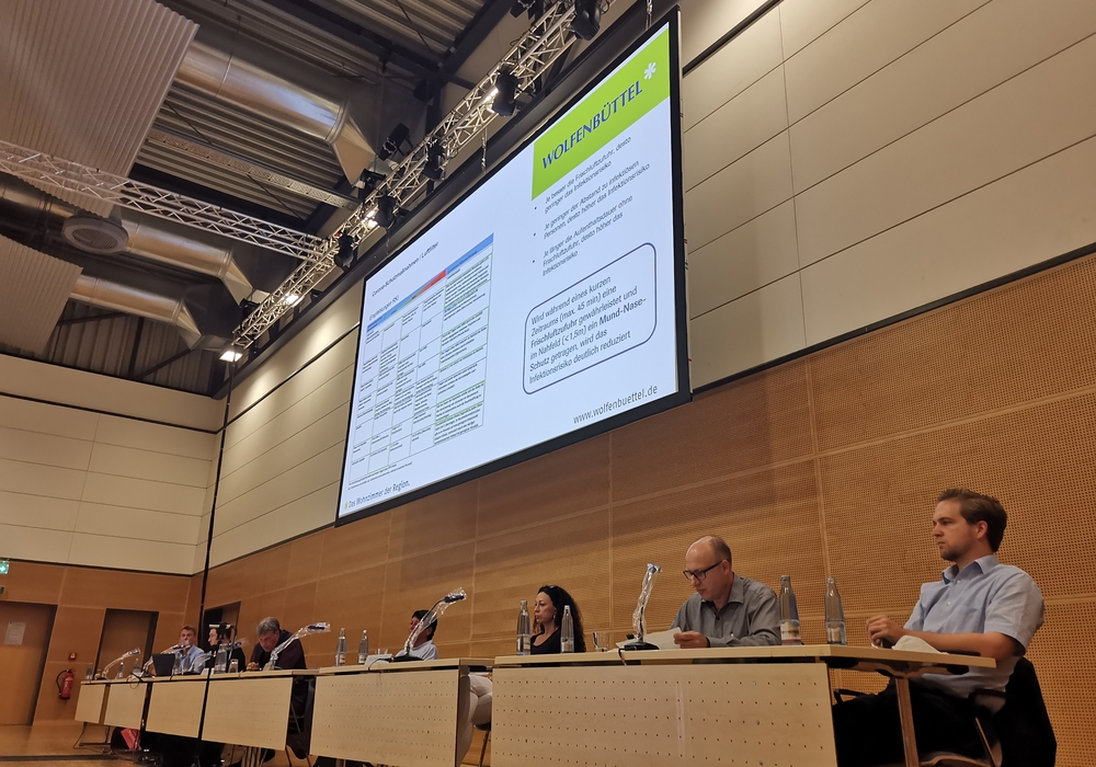 Bericht über Sinn und Unsinn von Luftreinigungsgeräten im Schulbetrieb im Ausschuss für das Schulwesen am gestrigen Dienstag in der Lindenhalle.