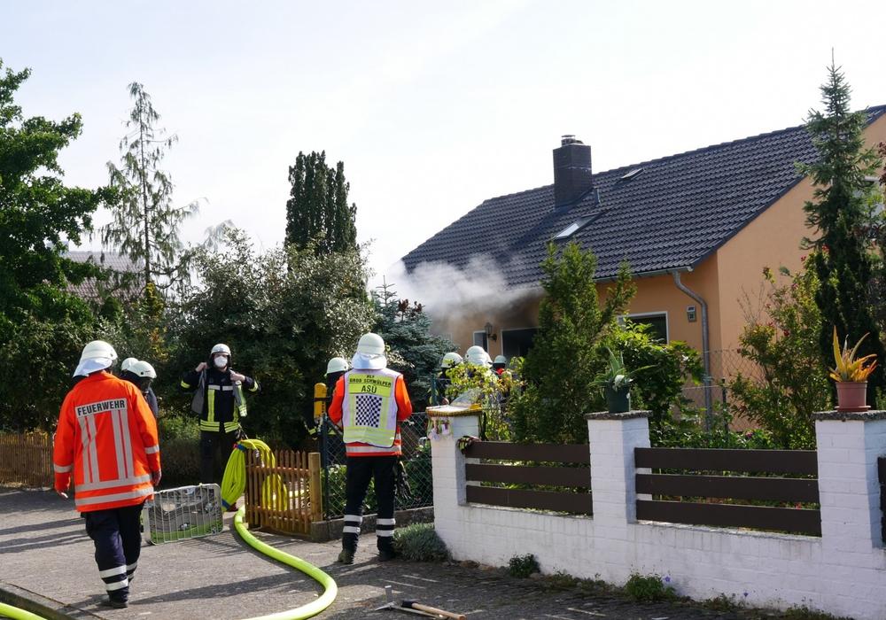 In Groß Schwülper kam es zu einem Küchenbrand.