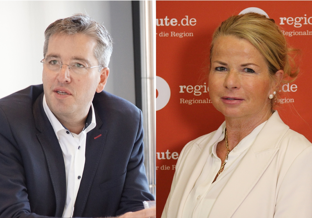 Dr. Oliver Junk (CDU) tritt nach aktuellem Stand gegen Herausfordererin Urte Schwerdtner in einer Stichwahl an.