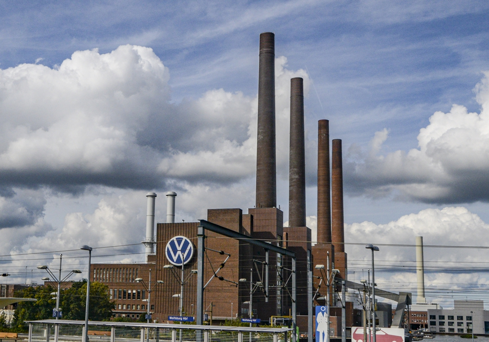 Das VW-Stammwerk in Wolfsburg.