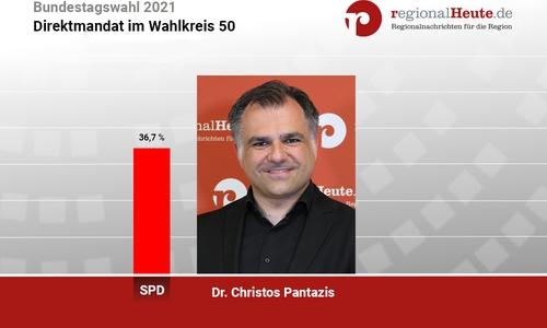 Für Christos Pantazis (SPD) geht es nach Berlin.