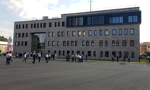 Das Führungs- und Lagezentrum (FLZ) der Feuerwehr Braunschweig in der Tunicastraße.