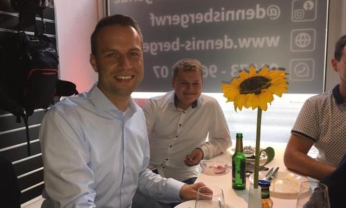 Dennis Berger (SPD) macht sich Hoffnungen auf das Bürgermeisteramt.